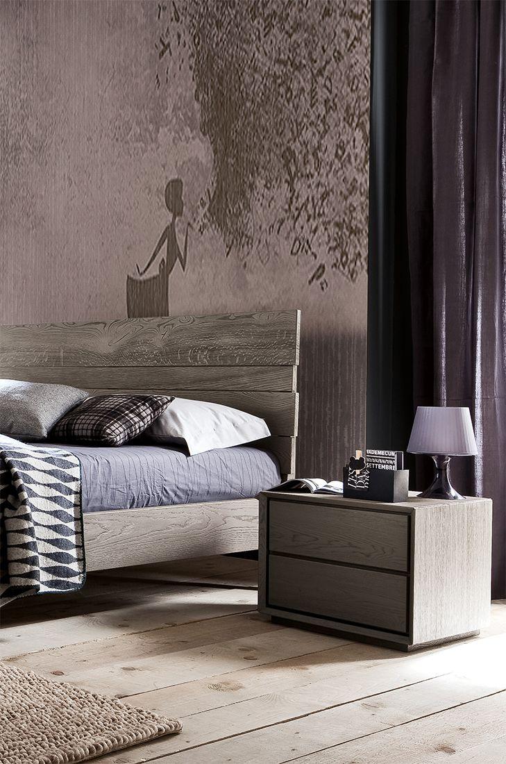 Ispirazioni di colori anche sulla parete! Tutto diventa arte e combinazioni di gusti! #LaCasaModerna #Beds #SweetDreams ● lacasamoderna.com