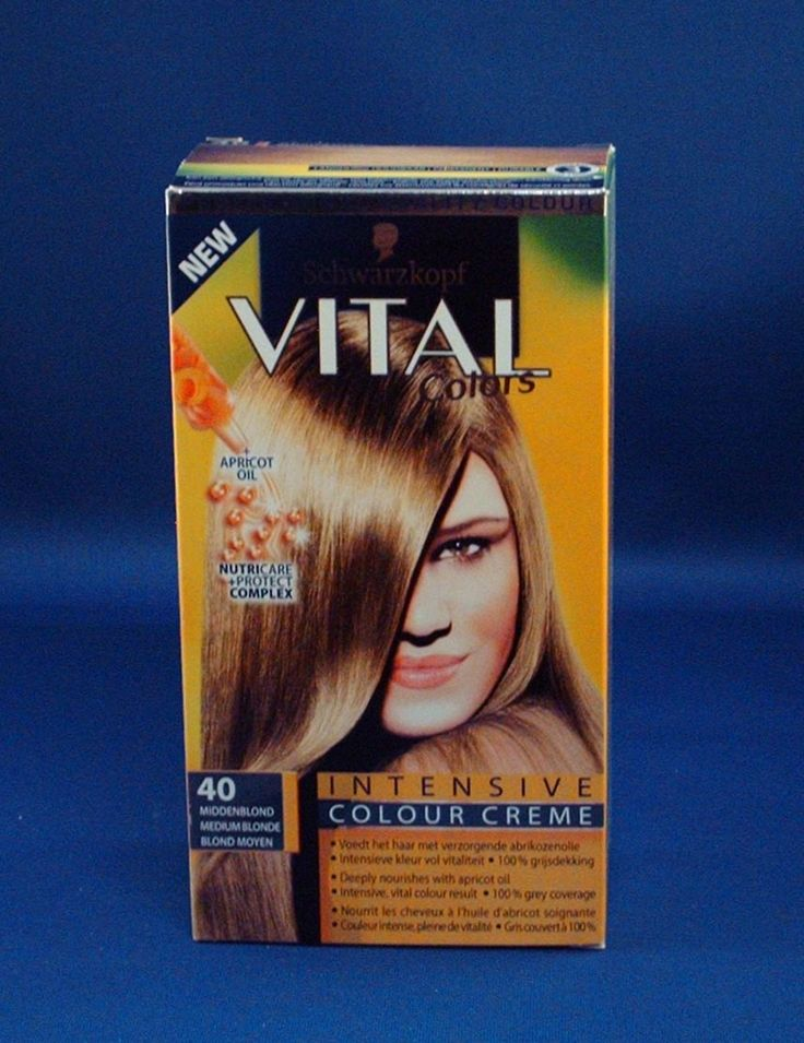Vital Colors Intensive Colour Creme 40 Middenblond