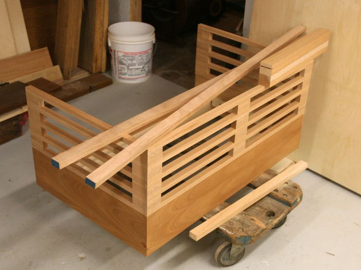 DIY Cosleeper - I wonder if one of our dads would make this for us!