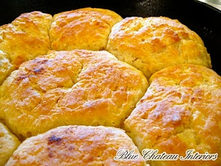 I have never even heard of baking biscuits in an iron skillet!! These look delicious-I must try this.