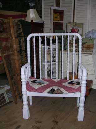 bench made from an old cribBenches Ideas, Diy Baby Bed Bench, Diy Crafts, Baby Beds, Garden Benches, Crafts Projects, Benches Projects, Baby Cribs, Gardens Benches