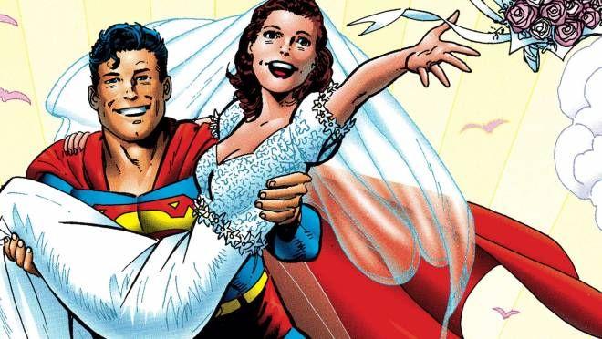 DC Comics Superman - Lois and Clark il matrimonio dell'uomo d'acciaio viene ristampato