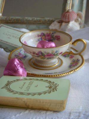 Ladylike style - mylusciouslife - tea cups - vintage - book.jpg