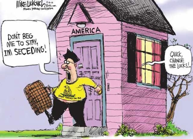Political Cartoons of the Week: Seceding From America