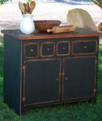 Primitive Country Kitchen Island