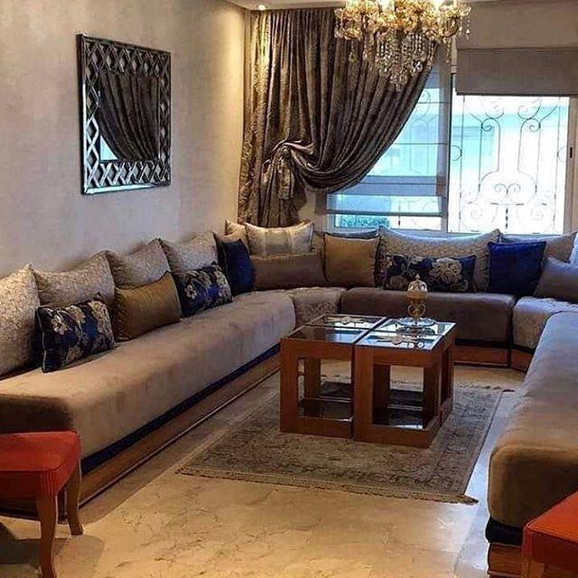 Pin By عالم الاثاث و الافرشة المغربية On صالونات عصرية In 2020 Living Room Sofa Design Living Room Decor Cozy Moroccan Living Room