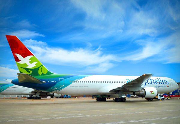 Branding Air Seychelles livery