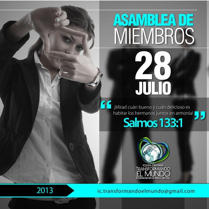 Asamblea de Miembros Julio 2013