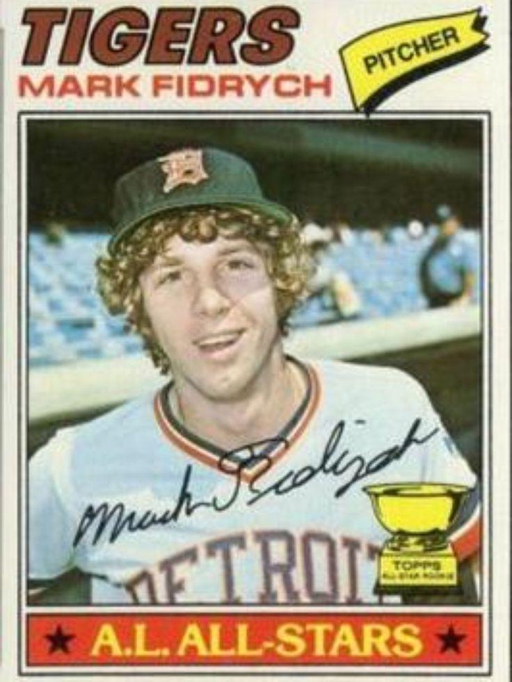 "Mark ""the Bird"" Fidrych - one magical season in 1976"
