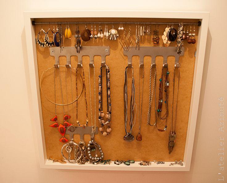 17 best ideas about porte bijoux on pinterest jewelry. Black Bedroom Furniture Sets. Home Design Ideas