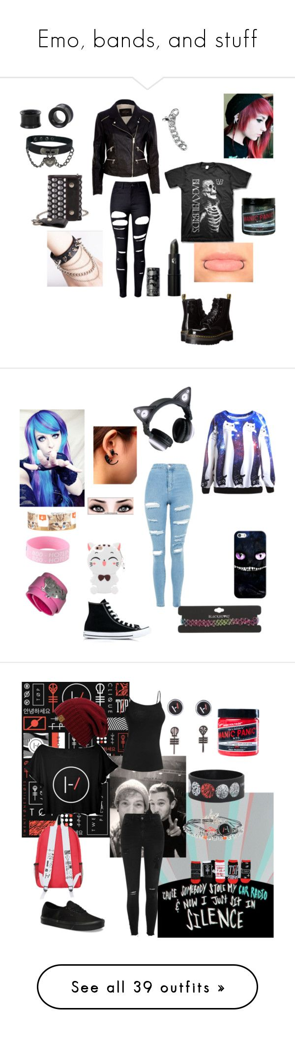 "2dea2bcd688902fd231a6299a2a50222  robert graham robert richard - ""Emo, bands, and stuff"" by jungkookielove ❤ liked on Polyvore featuring Dr. Ma..."