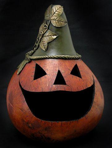 Hecha a mano Calabazas de Bev - Halloween Galería