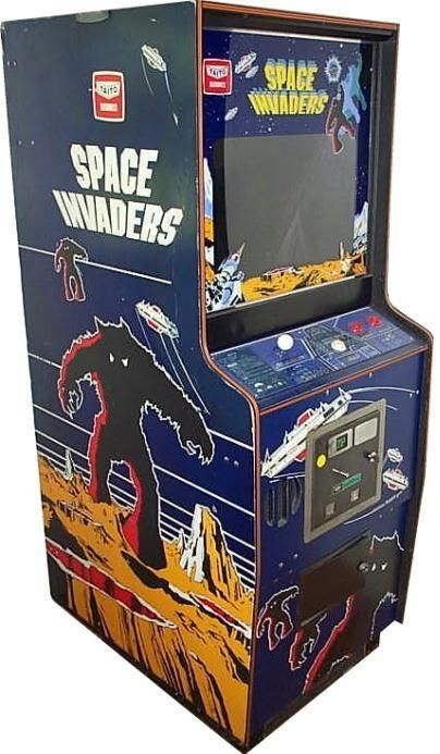 Arcade Space Invaders,definitely a must have in an arcade room.