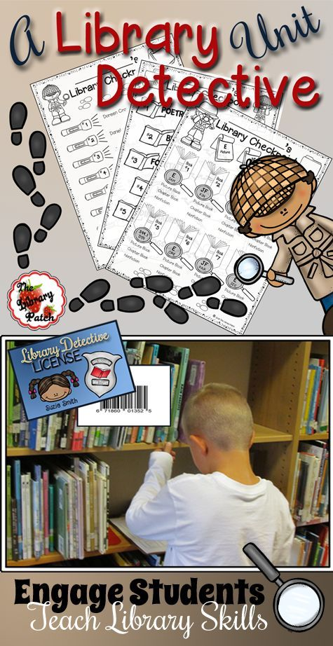 Teach your kids the layout of the library by assigning them Rookie Cases…