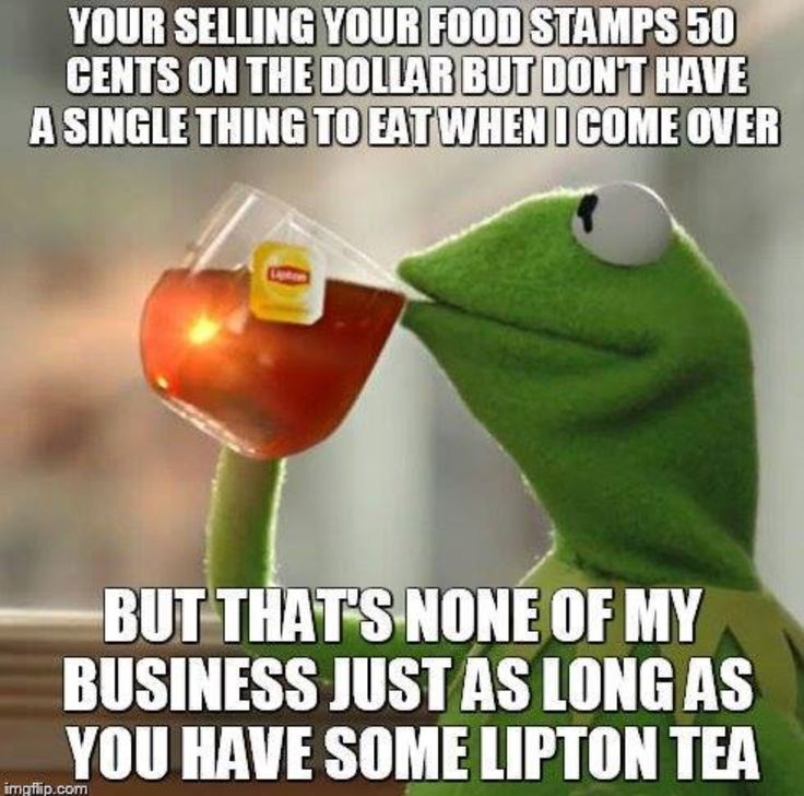 Kermit The Frog ~ But That's None Of My Business