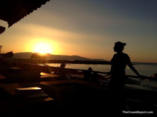 Sunset @Platanias (Crete), Greece