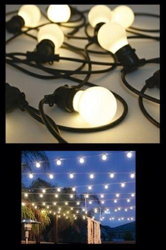 Bella Vista Festoon Lighting Garden lights - are these the ones vix has?