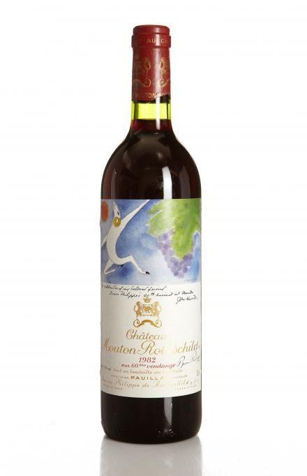 Château Mouton Rothschild 1982 desde $2,509.88 (1.864,56€) -5% ¡Sólo quedan 6 botellas!