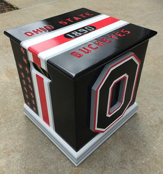 Ohio State Buckeyes Inspired u0027Blackoutu0027storage Ohio · Toy BoxesFootlockerOhio ... & Best 25+ Ohio state schedule ideas on Pinterest | Ohio state ... Aboutintivar.Com