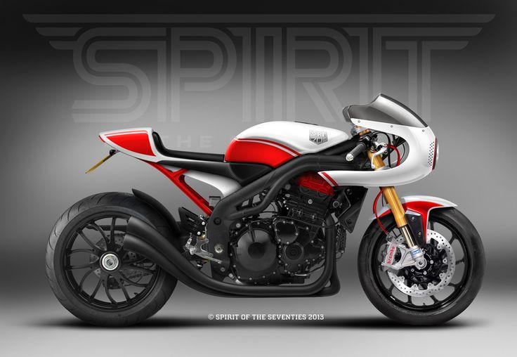 Cafè Racer Concepts - Triumph Speed Triple 1050 2008 Cafè Racer by Spirit of the…