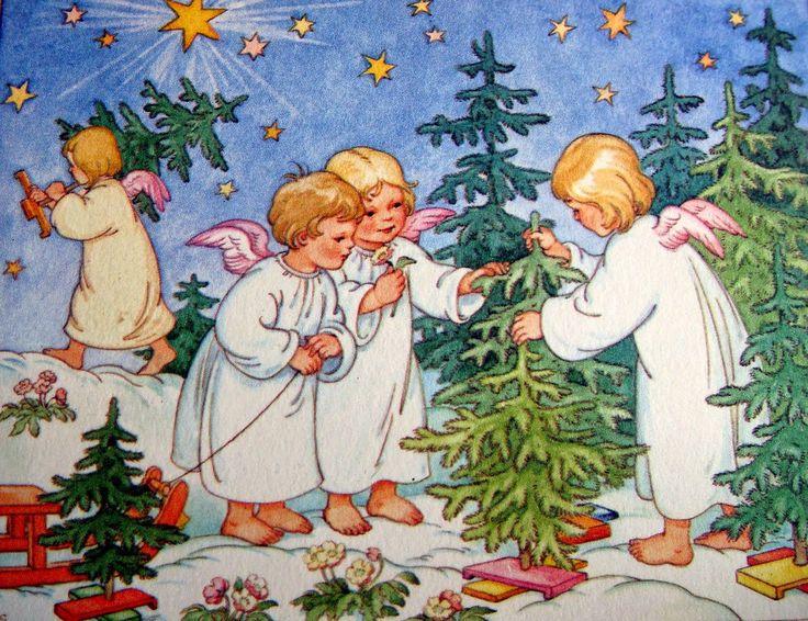 Рождественская открытка от ки