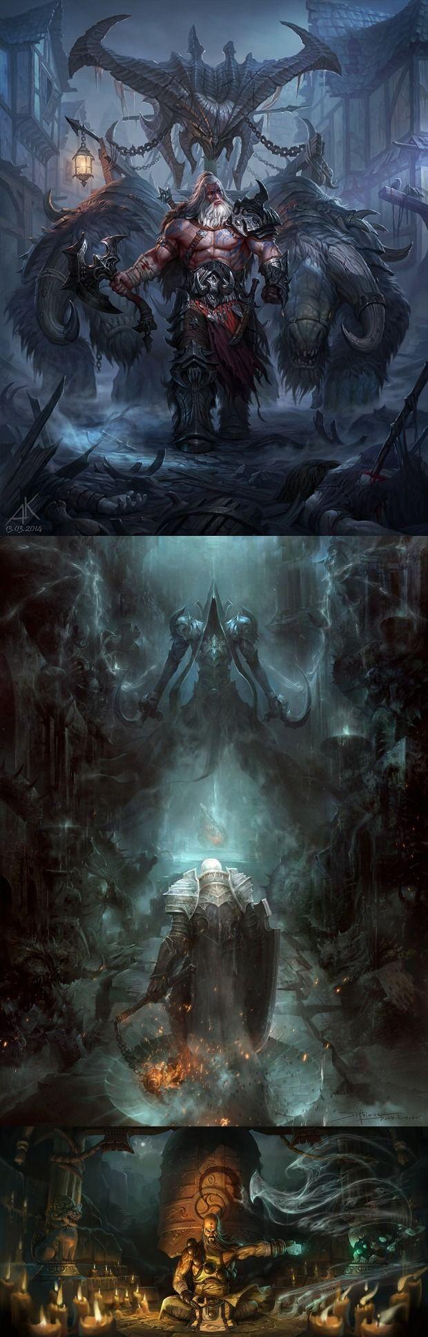 Diablo III: Reaper of Souls Fan Art Contest Winners xGinfull <xginfull@gmail.com>