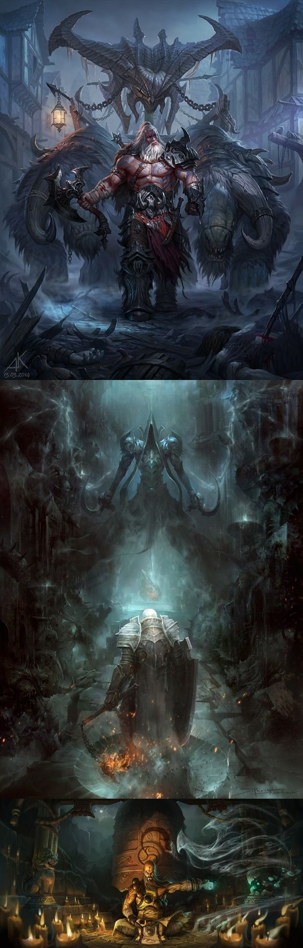 Diablo III: Reaper of Souls Fan Art Contest Winners