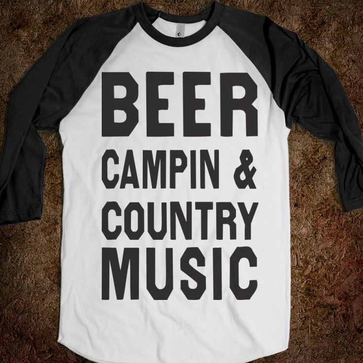 Beer Campin And Country Music (Baseball) - Shake it for Luke Bryan - Skreened T-shirts, Organic Shirts, Hoodies, Kids Tees, Baby One-Pieces and Tote Bags Custom T-Shirts, Organic Shirts, Hoodies, Novelty Gifts, Kids Apparel, Baby One-Pieces | Skreened - Ethical Custom Apparel