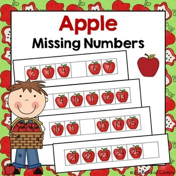 I hope you enjoy this freebie! This work station focuses on missing numbers from 0-30. There are 30 missing number work mats. The children will identify the missing number on each work mat and place the correct number card in the blank space. One page of number cards are also included.
