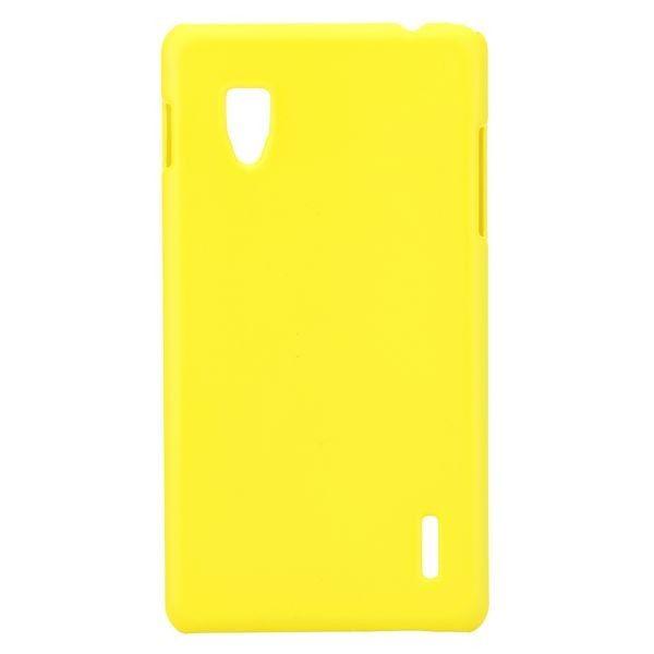 Hard Shell (Keltainen) LG Optimus G E973/E975 Suojakuori