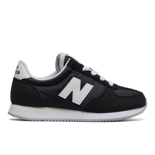 220 New Balance Kids Grade School Lifestyle Shoes - Black/White (KL220BWY)