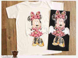 ssfashionkaos: Kaos Wanita Big Mickey Strawberry | Kaos Jakarta