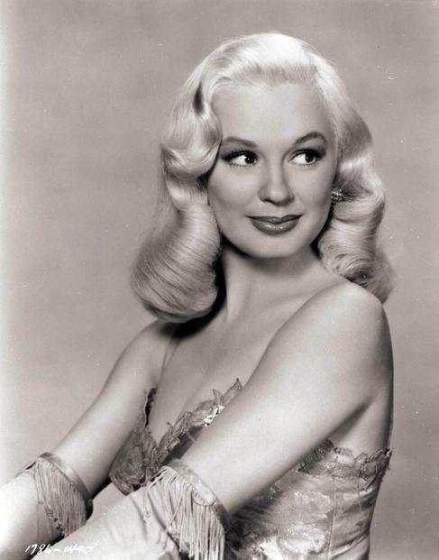Hair inspiration today from Mamie Van Doren, (Born February 6, 1931)