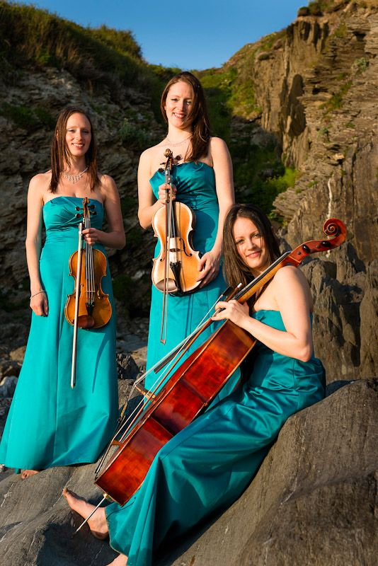 SORELLI STRINGS   Talented sisters play string instruments perfectly to add ambiance to your romantic day. They are able to adapt to your requests too - be sure to get in touch to find out more information: http://www.sorrellistrings.com/