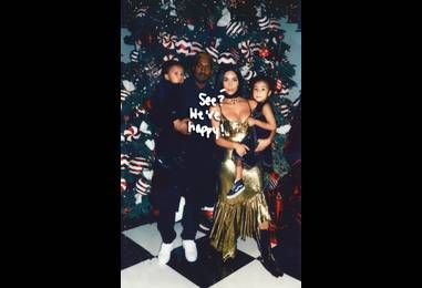 Kim Kardashian Shares Beautiful Home Video Montage Of Kanye West, North, & Saint After Visiting Donda West's Grave