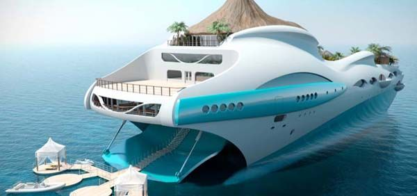 Marvelous Tropical Island Yacht for New Level of Luxury : Tropical Island Yacht