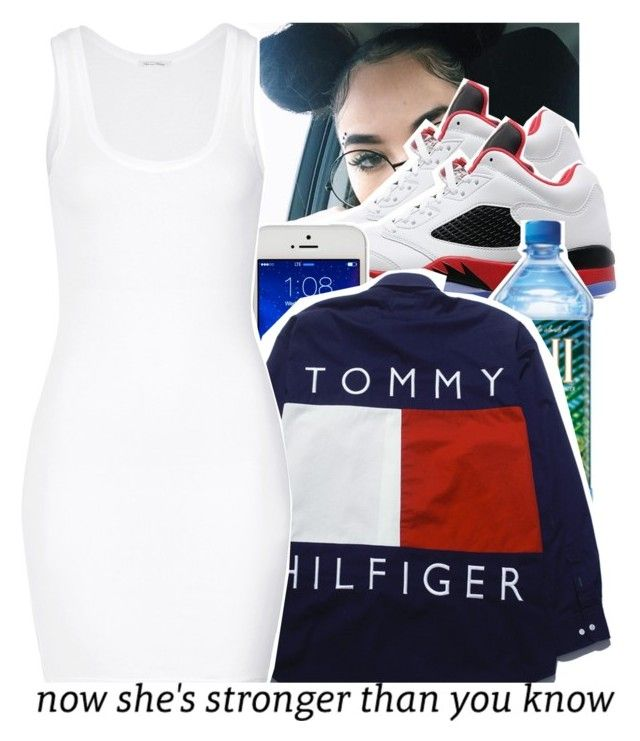 """""""I was here"""" by babygirl-10 ❤ liked on Polyvore featuring Jordan Brand and American Vintage"""