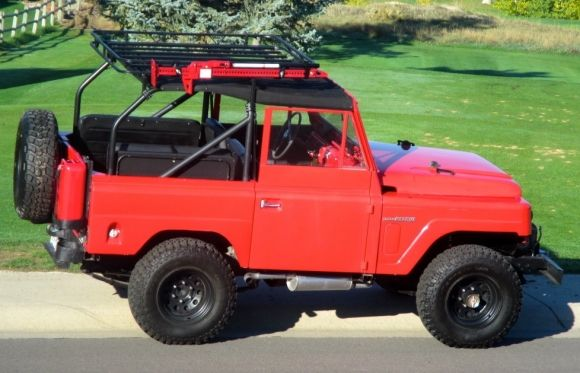 1963 Nissan Patrol - awesome.  Only 4000 of these were imported into the US and of those only 700 were soft tops.  Click on the pic to go to Bring A Trailer.
