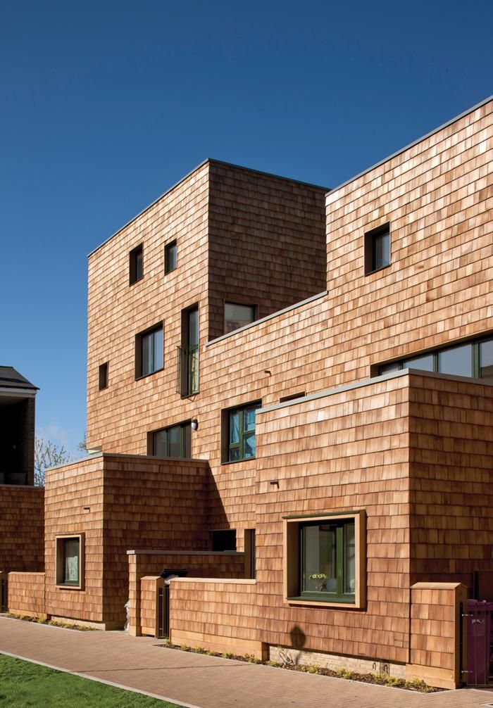 shingle-clad social housoing - Hannibal Road - Stepney, Tower Hamlets, London - Peter Barber