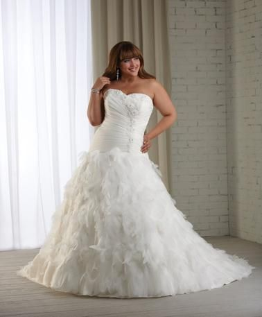 wedding dreses plus size