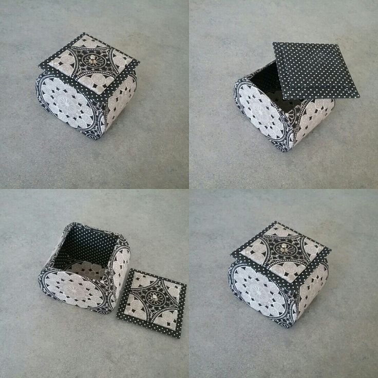 Jacqueline de Calvisson a réalisé cette boîte d après le modèle de Maki Saeki en tissu de chez Mumu de Vendargues et le pois de chez Omar chez idéal tissu lunel.  Bravo Jacqueline!