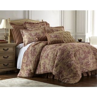 Shop for Sherry Kline Cassandra Toile 4-piece Luxury Comforter Set. Get free shipping at Overstock.com - Your Online Fashion Bedding Outlet Store! Get 5% in rewards with Club O!