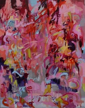 "Saatchi Art Artist Monika Holte; Painting, ""New beginnings"" #art"