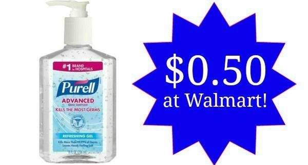 Walmart: Purell Hand Sanitizer Only $0.50!