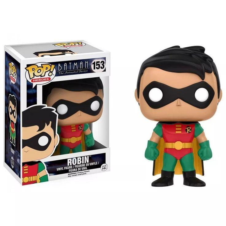 Funko Pop - Batman La Serie Animada: Robin 100 Nuevo!!! - $ 650,00 en Mercado Libre