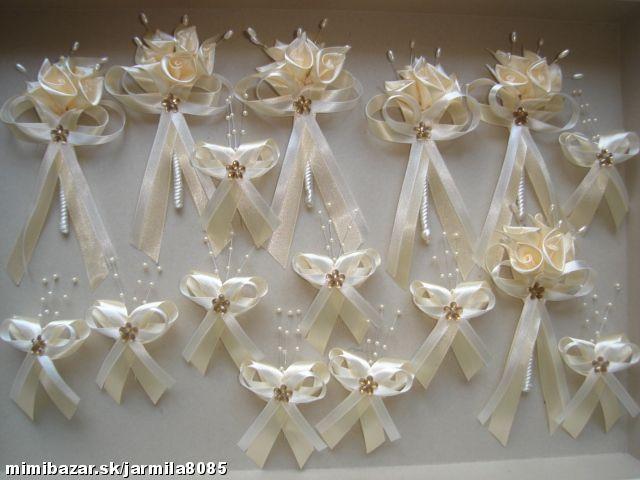 Svadobné pierka