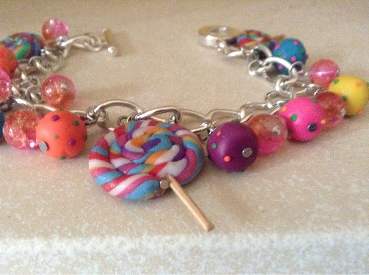 A personal favourite from my Etsy shop https://www.etsy.com/uk/listing/542476352/sliver-bracelet-with-candy-crush-blast