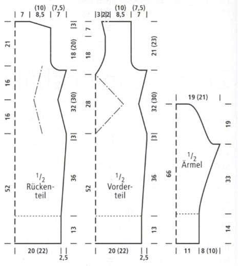 Инструкция вязания платье труба с плетенкой на груди