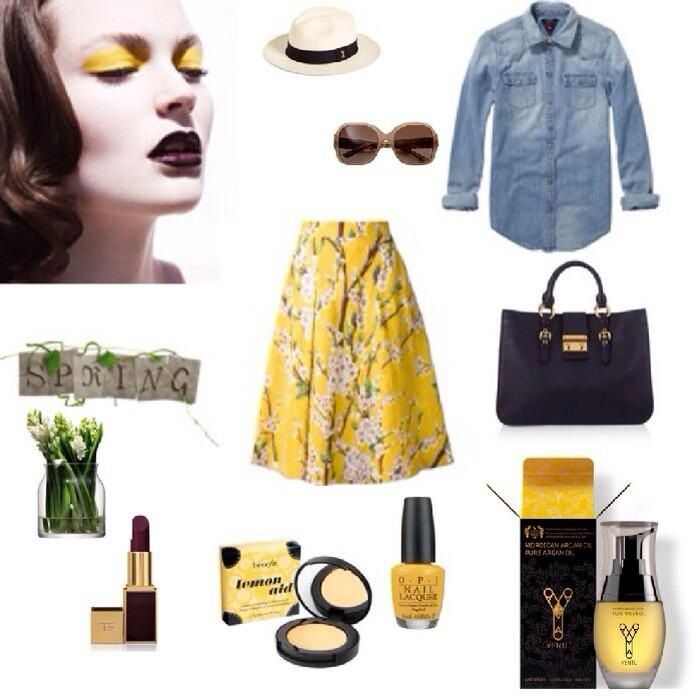 The sun is shining! Spring is in the air! And Yentl Yellow is the color to wear!   www.yentloil.com | yentl oil, pure enrichment #ArganOil #Yentl #YentlOil #Argan #Oil #SkinCare #BeautyProducts #MustHaves