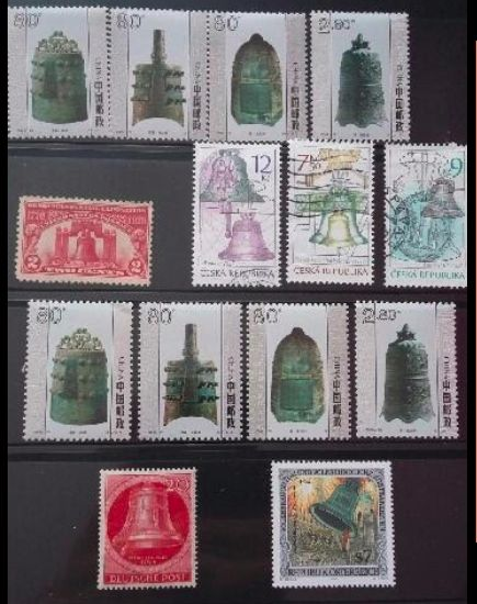 Stamps about bells
